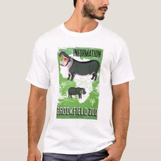 Hippo Brookfield Zoo 1938 WPA T-Shirt