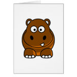 Hippo Brown Card