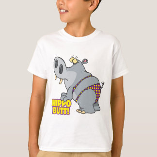 hippo butt bikini hippopotamus T-Shirt