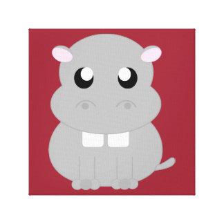 Hippo Canvas
