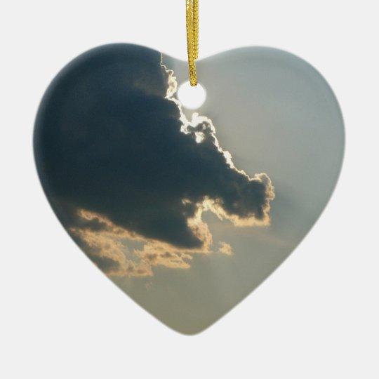 Hippo Cloud Ornament