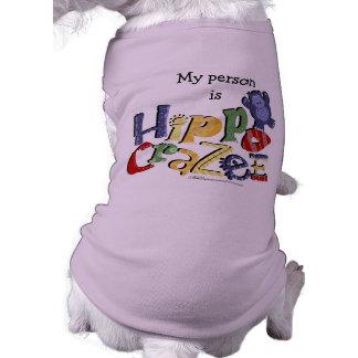 Hippo Crazee (on light colors) T-Shirt