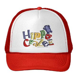 Hippo Crazee (on light colors) Trucker Hat