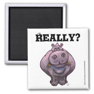 Hippo Diet Reminder Magnet