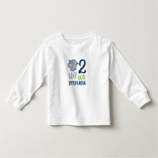 Hippo for Hip Dysplasia Toddler T-shirt