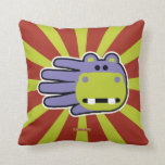 Hippo Hand Pillows