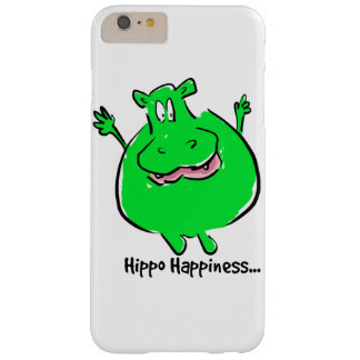 Hippo Happiness - phone case Barely There iPhone 6 Plus Case