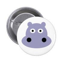 hippo head pin