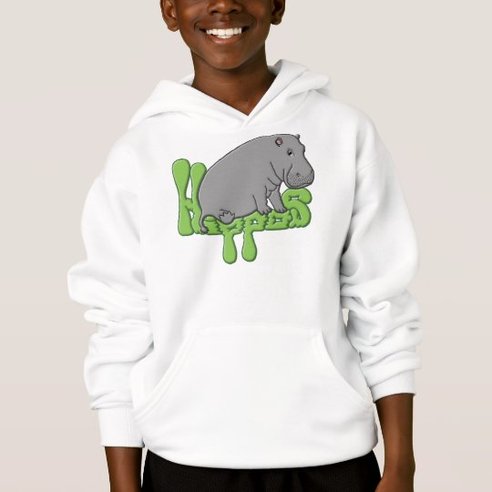 Hippo Heavy - Green Hoodie