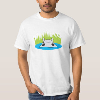 hippo hiding in water T-Shirt