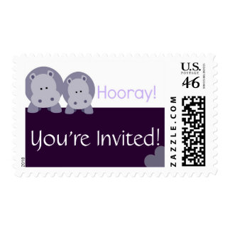 Hippo Hippo Hooray! Stamps