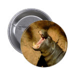 hippo hungry pinback buttons