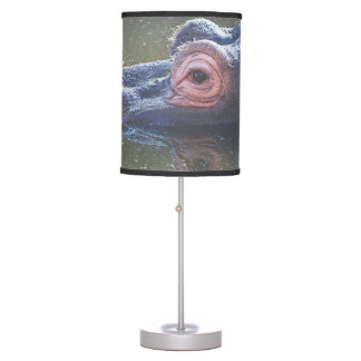 Hippo In The Water Table Lamp