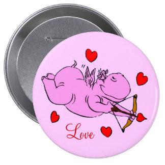 Hippo Love Button