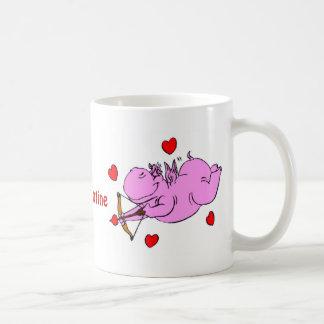 Hippo Love Valentine's Mug