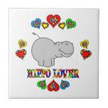 Hippo Lover Tile