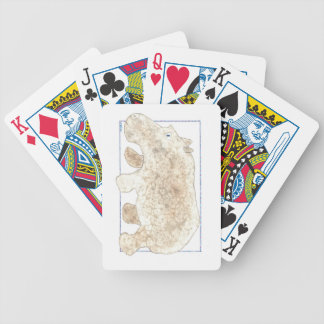 Hippo Marble Peter Playing Cards