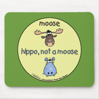 Hippo-not-a-moose! Mouse Pad