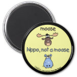 Hippo-not-a-moose! Refrigerator Magnets