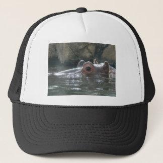 Hippo Peek a Boo Trucker Hat