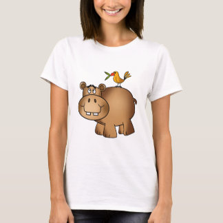 Hippo po and Birdie T-Shirt