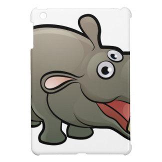Hippo Safari Animals Cartoon Character iPad Mini Case
