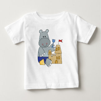 Hippo Sand Castle T-shirts and Gifts