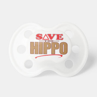 Hippo Save Pacifier