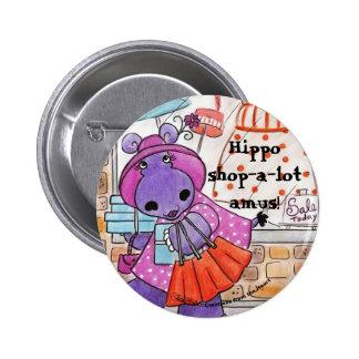 Hippo Shopping-Hippo shop-a-lot amus! Pin