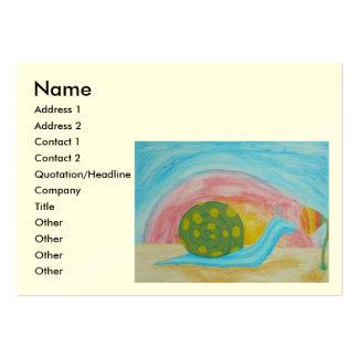 Hippo-Snail Business Card
