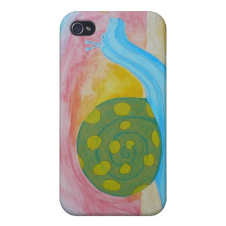 Hippo-Snail iPhone 4 Speck Case iPhone 4 Case