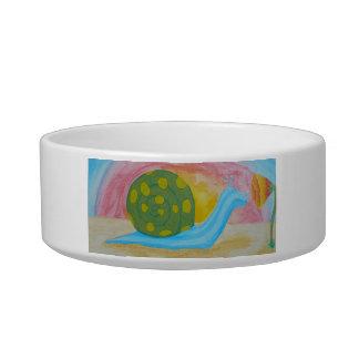 Hippo-Snail Pet Bowl