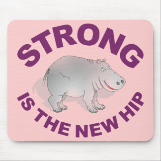 Hippo, strong is the new hip mouse pad