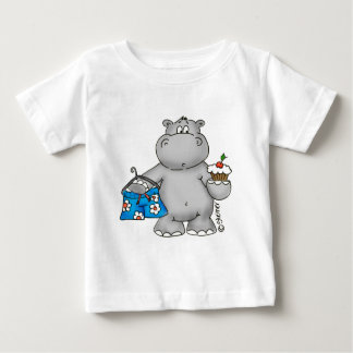Hippo_Summer_Conflict.png Baby T-Shirt