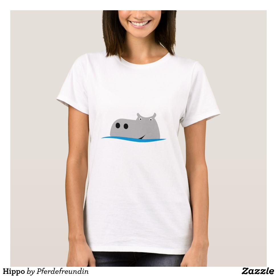 Hippo T-Shirt - Best Selling Long-Sleeve Street Fashion Shirt Designs