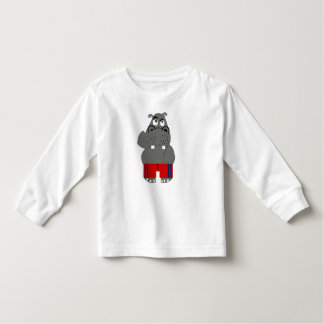 Hippo Toddler T-shirt