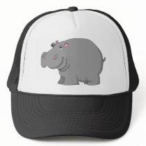 hippo trucker hat