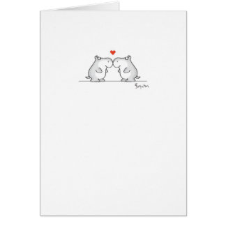 HIPPO VALENTINE'S DAY Valentines by Boynton Greeting Card