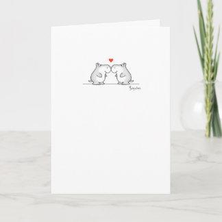 HIPPO VALENTINE'S DAY Valentines by Boynton Holiday Card