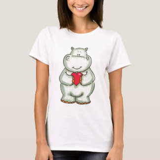 Hippo with Heart T-Shirt