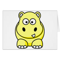 Hippo Yellow Card