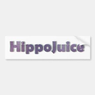HippoBumper Car Bumper Sticker
