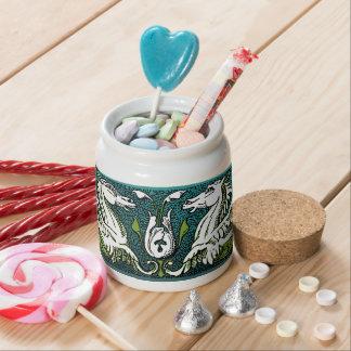 Hippocamps Candy Jar