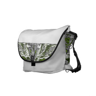 Hippocamps Courier Bag
