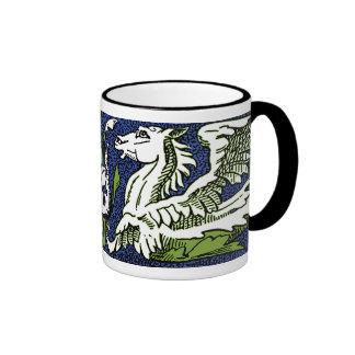 Hippocamps Scroll Coffee Mug