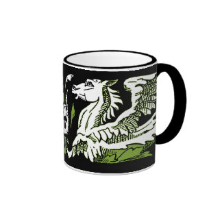 Hippocamps Scroll Coffee Mugs