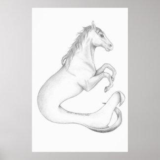 Hippocampus print