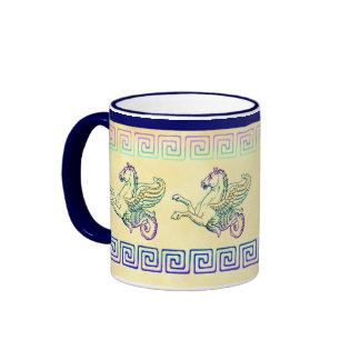 Hippocampus Sea Horse Vintage Art Coffee Mug