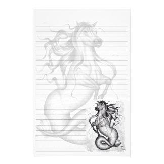 Hippocampus Stationary Custom Stationery