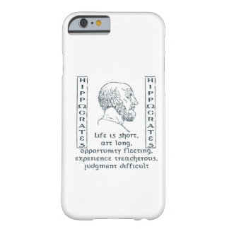 Hippocrates Barely There iPhone 6 Case